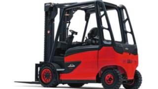 Elektrické vysokozdvižné vozíky E35–E50 od společnosti Linde Material Handling