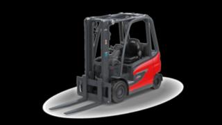 Elektrický vysokozdvižný vozík E30 od společnosti Linde Material Handling
