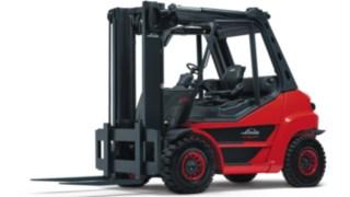 Vysokozdvižné vozíky se spalovacím motorem H50–H80 EVO od společnosti Linde