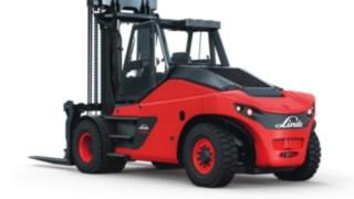 Vysokozdvižné vozíky se spalovacím motorem HT100–HT180 Ds od společnosti Linde