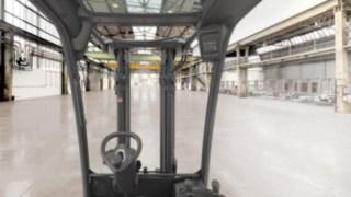 Výhled zvysokozdvižného vozíku H20–H35 od společnosti Linde Material Handling