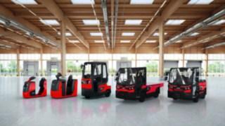 Tahače a plošinové vozíky od společnosti Linde Material Handling