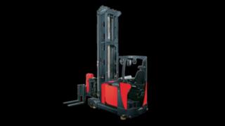 Systémový vysokozdvižný vozík pro velmi úzké uličky VNA typu A od společnosti Linde