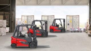Modely nové platformy vysokozdvižných vozíků s protizávažím od společnosti Linde Material Handling