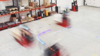 Automatizované vozíky od společnosti Linde
