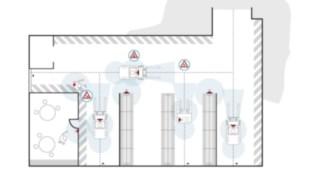 Grafika znázorňuje oblasti použití systému Linde Safety Guard.