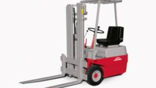 První elektrický vidlicový vysokozdvižný vozík od společnosti Linde Material Handling