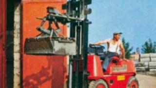 První vysokozdvižný vozík od společnosti Linde Material Handling– Hubtrac