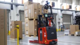Automatizované vozíky Linde ve společnosti Wolf GmbH