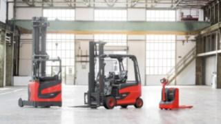 Tři produktové řady manipulačních vozíků Linde